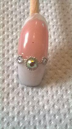 acrylic and gems