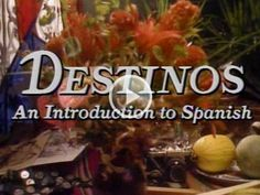 We watched this in high school! Great way to brush up on my spanish :)  Travel the world with lawyer Raquel Rodríguez as she solves a mystery for a dying man. Watch the complete Destinos series, practice your Spanish, and find new resources for learning and teaching Spanish.  52 free episodes