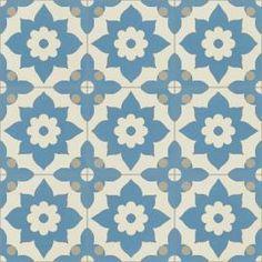 Carreaux de ciment | Motifs floraux | Mosaic del Sur