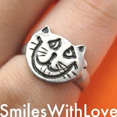 $5 Alice in Wonderland Cheshire Cat Animal Ring - in size 5 and 6