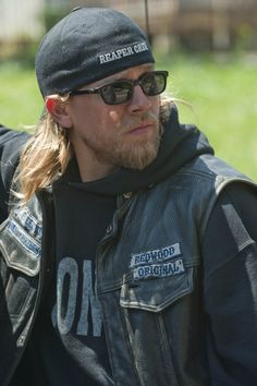 Charlie Hunnam....can't wait for September one it's my birthday and two my favorite show sons of anarchy is back...... Oh yeah: )