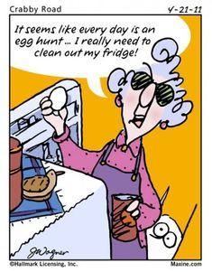 maxine egg hunt
