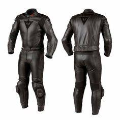 Dainese m6 div 2 piece men's leather suit, Suits - leathe...