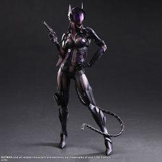DC Comics Variant Play Arts Kai Action Figure Catwoman by Tetsuya Nomura 27 cm ( Square - Enix )