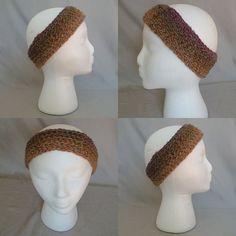 Headwarmer/Earwarmer/Headband - Autumn Blooms by BowsysBoutique http://etsy.me/2eQpkYH  #earwarmer #headwarmer #yarnbee #aspynyarn