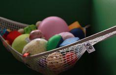 MiniOwls Toy Storage Hammock - Plush Animal Organizer for Bedroom Wall, Gift Idea for Baby Girl/Boy Birthday or Shower (White, Large) Toy Hammock, Organization Skills, Plush Animals, Toy Storage, Sports Equipment, Bedroom Wall, Teaching Kids, Storage Solutions, Boy Birthday