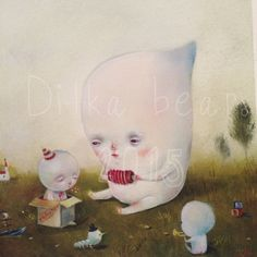 Birthday party 15/20 gicllee limited edition
