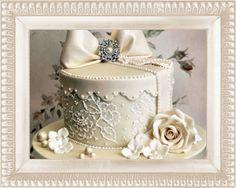 Самые красивые свадебные торты фото