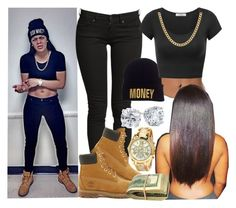 """TONI ROMITI LOOK."" by slayed-fashion ❤ liked on Polyvore featuring Timberland, Blue Nile and Sterling Essentials"