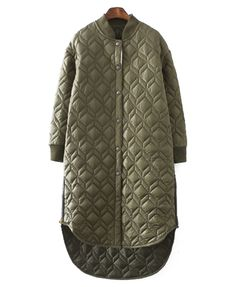Longline Padded Bomber Jacket Visit http://www.fashioncraycray.xyz/ for beautiful clothes right now.