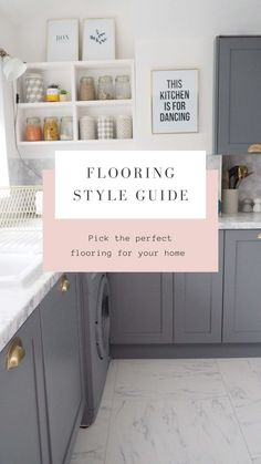This Handy Tool Will Help You Pick The Perfect Flooring - We Love Home Interior Design Advice, Interior Stylist, Interior Design Studio, Hygee Home, Scandi Home, Small Tiles, Best Flooring, Love Home, House And Home Magazine