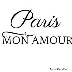 ♔ Paris Mon Amour, when you think of love you think of paris