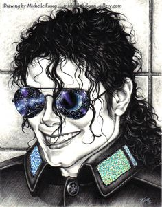 Michael Jackson art, has the name of the artist on top, but I couldn't verify if that was accurate or not; but I do like the artwork lol. Michael Jackson Drawings, Michael Jackson Art, Celebrity Pictures, Black Art, Painting & Drawing, Verify, Mj, Celebrities, Beautiful Things