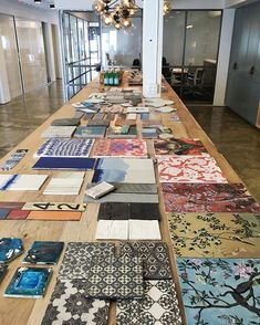 when clé does a tile presentation we bring all of the tile magic ✨ we are always grateful to be invited into our client's workspace because it's where the creative and wonderful work happens that inspires us everyday! #tiletheworld #cletile