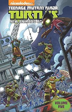 Teenage Mutant Ninja Turtles: New Animated Adventures Volume 5 by Landry Walker. Please click on the book jacket to place a hold or check availability @ Otis.