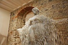"""""""Angel of Peace"""" or """"Akdeniz Heykeli""""_Public Art/Turkey_by Ilhan Modern Sculpture, Sculpture Art, Sculptures, Kinetic Art, Constructivism, Land Art, Public Art, Abstract Expressionism, Contemporary Art"""