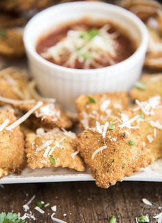 ... appetizer or dinner. Great served with marinara sauce for dipping
