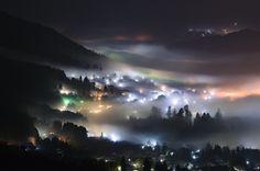 湯布院 夜景