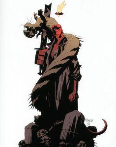 Hellboy by Mignola
