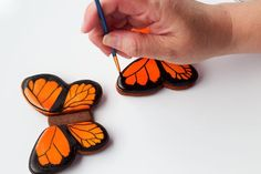 Butterfly cookie inspiration