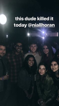 Niall via thejordlaw's instagram story 8/9/17