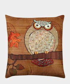 Owl in autumn