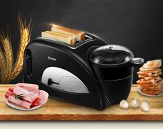 610.00$  Buy now - http://ali7kz.worldwells.pw/go.php?t=32724465871 - Household Multifunctional Automatic bread maker breakfast Toaster