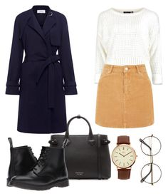 """Untitled #12"" by taran4734 on Polyvore featuring Burberry, A.L.C., Dr. Martens and BKE"