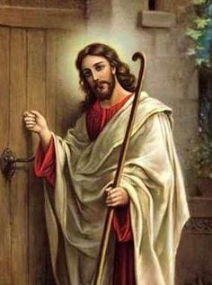 Jesus is always at the door of our hearts . . . all we have to do is let Him in.♥