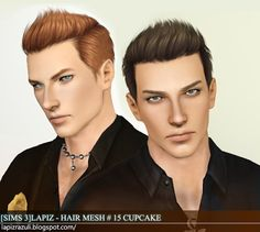 sims hairstyles for dudes | Better CAS in Sims 4 and better hairstyles for guys.
