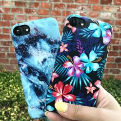 Summer Colors  Geode & Lilac Kiss for iPhone 7 & iPhone 7 Plus from Elemental Cases