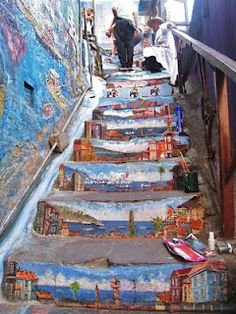 street art (great, amazing, beautiful, cool, interesting, creative, mural)