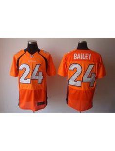 0a667b3ab643 free shopping 2012 Nike NFL Denver Broncos 24  Champ Bailey Elite Orange  Color Jersey