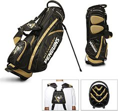 Team Golf Pittsburgh Penguins Golf Stand Bag