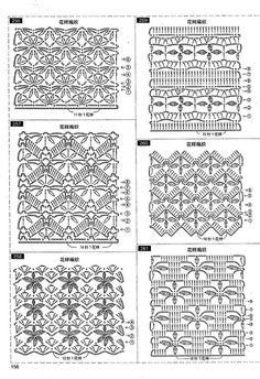 Fabulous Crochet a Little Black Crochet Dress Ideas. Georgeous Crochet a Little Black Crochet Dress Ideas. Crochet Stitches Chart, Crochet Diagram, Crochet Motif, Knitting Stitches, Knitting Patterns, Crochet Patterns, Crochet Books, Thread Crochet, Crochet Lace Dress