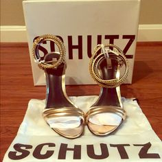 Schutz Monya Heels Brand new, never worn. Size 8.5. Selling for my friend. SCHUTZ Shoes Heels