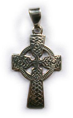 925 zilveren kettinghanger Keltisch Kruis 3