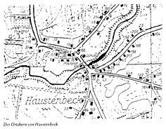 Haustenbeck map