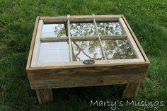 DIY Window Table Tutorial