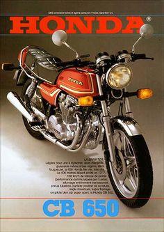 23208. - MOTORCYCLE - HONDA 1981 - CB 650 - La Sprinter -  29x41-.