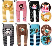 5 Cute playful baby girl pants