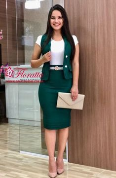 Cute and Trendy Professional Attire for Women Classy Work Outfits, Classy Dress, Office Outfits, African Fashion Dresses, Fashion Outfits, Corporate Attire, Professional Dresses, Work Attire, Skirt Outfits