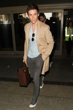 Oliver Cheshire is a shining example of how to pull-off a metallic jacket