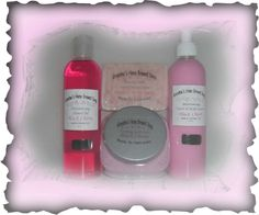 Quality Homemade Shea & Mango Butter Soap, Goat's Milk Lotion, and Foaming Bath Salts, made with Fine Crystal Sea Salt.