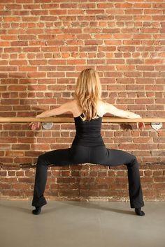 Innere Oberschenkel abnehmen durch diese Übung des Ballett
