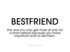 A best friend.