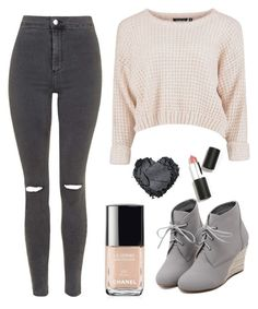 """""""Untitled #6"""" by leonazi ❤ liked on Polyvore featuring Topshop, WithChic, Sigma Beauty, Chanel, women's clothing, women's fashion, women, female, woman and misses"""