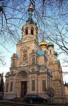 Russian church in Karlovy Vary, Czech republic