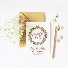 Save the Date Christmas
