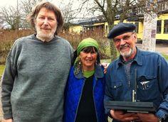 Göran Wärff, Ulrica Hydman-Vallien and Bertil Vallien.